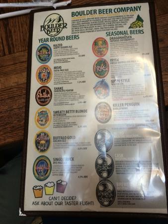 Boulder Beer Brewery