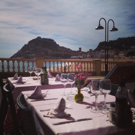 Restaurant Minerva: vistas desde la terraza