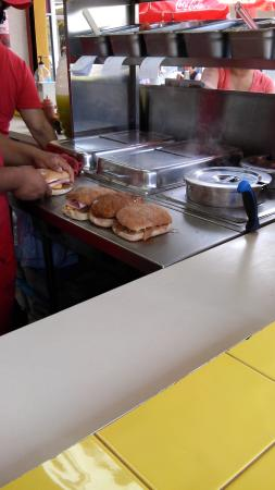 Tortas El Turco : Prep2