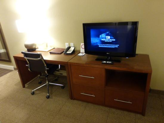 Comfort Suites Bozeman: Small TV