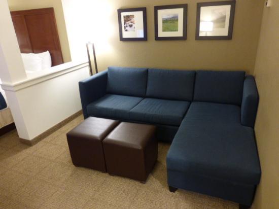Comfort Suites Bozeman: Sitting area