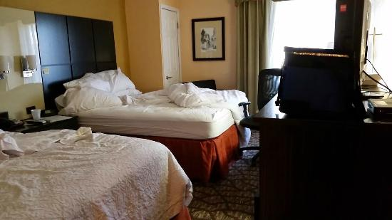 Hampton Inn St. Augustine-Historic District: Small room for $200.00 a night?