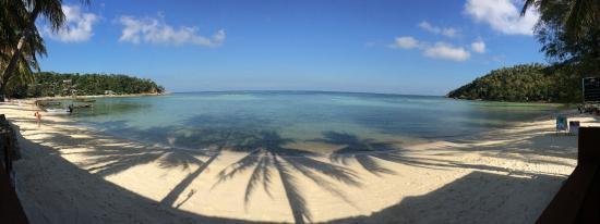 Salad Beach: le matin