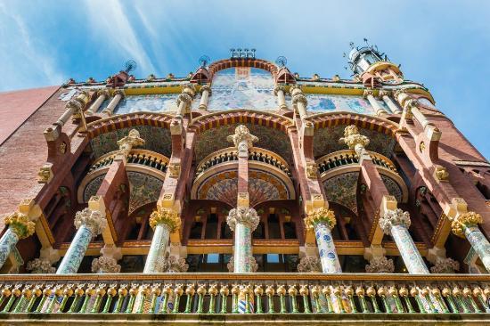 Columnes Sala Lluis Millet - Picture of Palau de la Musica ...