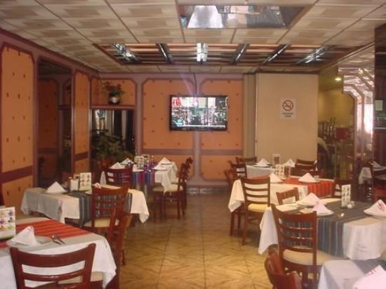 Hotel Plaza Garibaldi: Restaurant