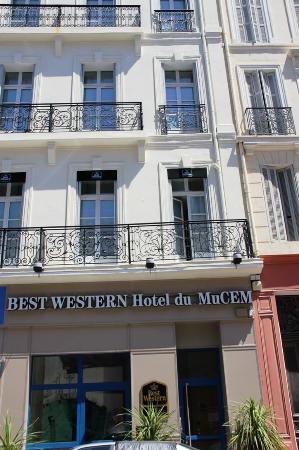 BEST WESTERN hotel du Mucem: Hotel Exterior
