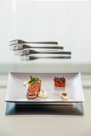 Aqua Blu Boutique Hotel + Spa: Fine Dining