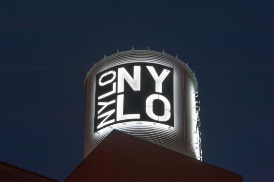 NYLO Dallas South Side: NYLO Water tower