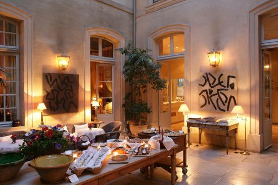 La Mirande Hotel: Afternoon tea