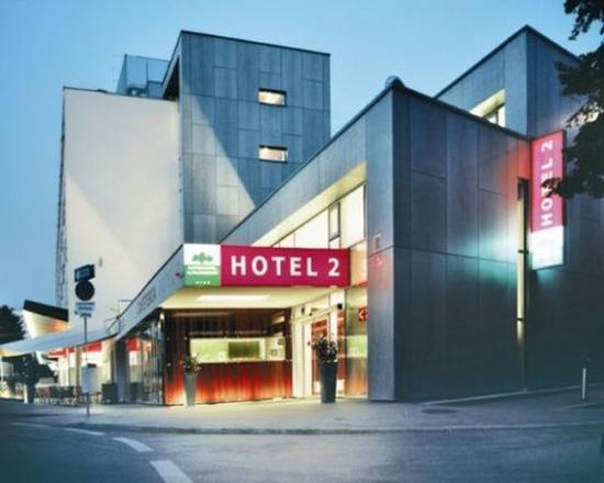 Gartenhotel Altmannsdorf Hotel 2: Slice Hotel Aussenansicht Abend