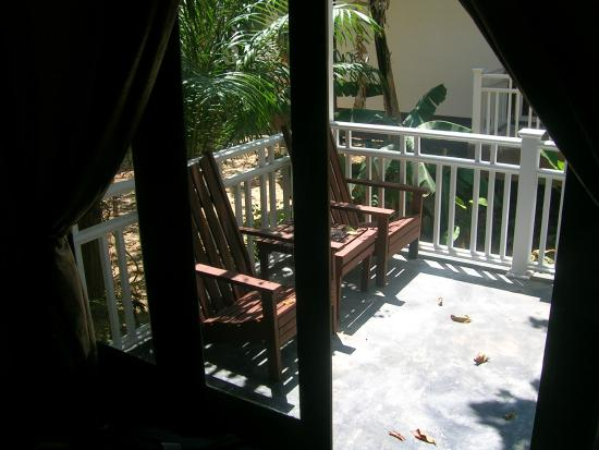 Lanta Klong Nin Beach Resort: balcony