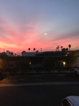 San Clemente, Καλιφόρνια: Sunset from our room window