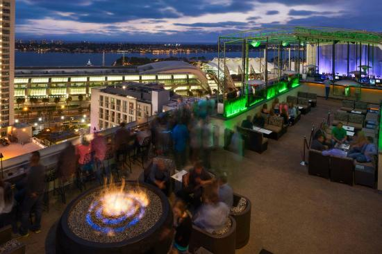 Views from ALTITUDE Sky Lounge - Picture of San Diego ...
