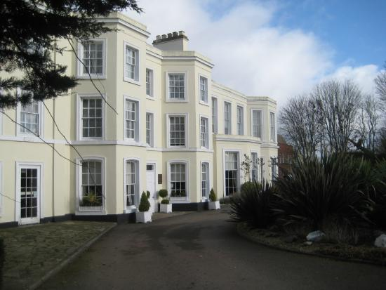Burnham Beeches Hotel Entrance From The Drive