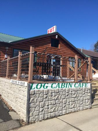 The 10 best restaurants near kovac planetarium rhinelander for Log cabin cafe