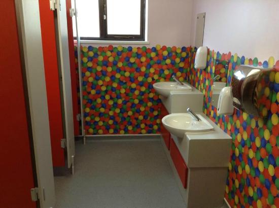 Activity World: Newly refurbished girls toilets