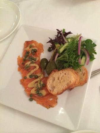 Jens' Restaurant: Lox Starter
