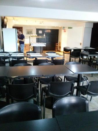 Hotel Monte Cervino: Desayunador/comedor