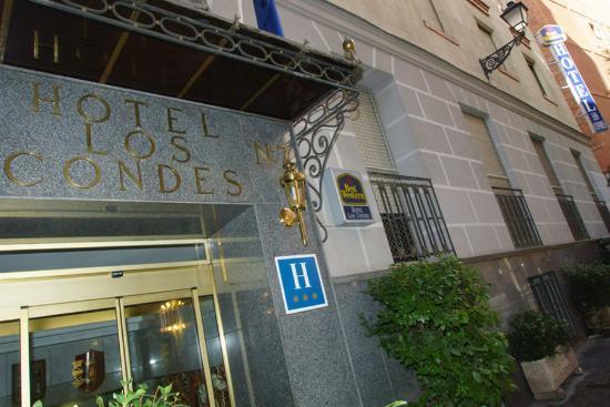 Best Western Hotel Los Condes: Entrance