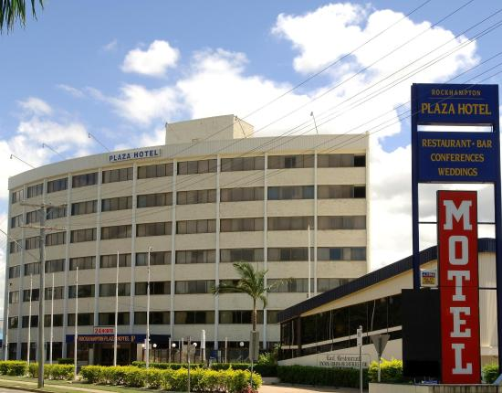 Rockhampton Plaza Hotel International : Exterior