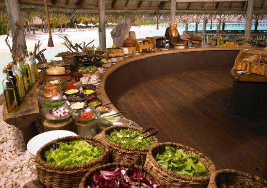Gili Lankanfushi Maldives: Lunch at Over Water Bar
