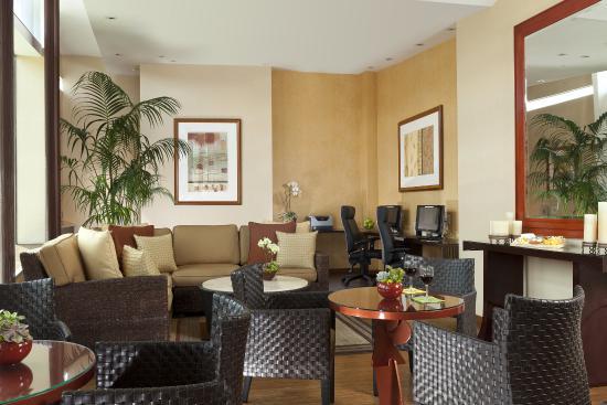 Elan Hotel: Lobby