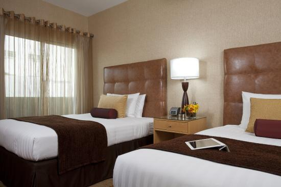 Elan Hotel Los Angeles: Double Bed