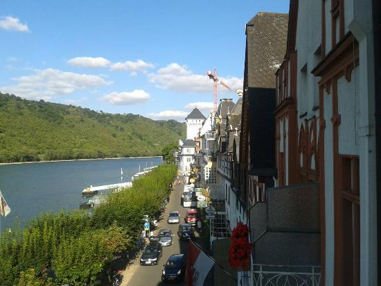 Hotel Günther Garni: Vieux from balcony.