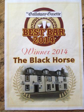 Blackhorse Hotel : Best bar of the year 2014