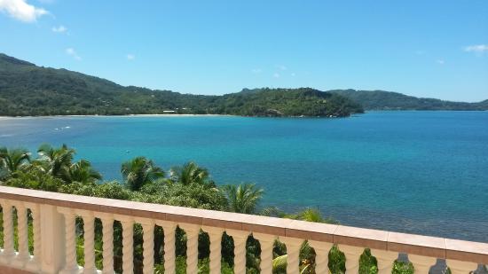 Bay View Villa: Vue de la terrase de la chambre