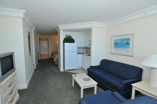 Daytona Beach Resort and Conference Center : Oceanfront suite