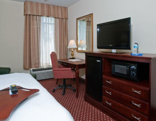 Hampton Inn Savannah -  I-95 North: Room Amenities
