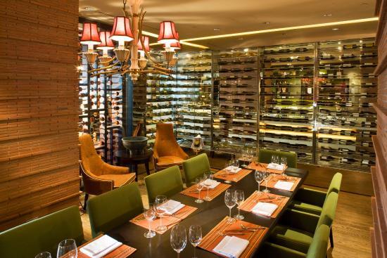 New World Makati Hotel : Cafe 1228's Wine Room