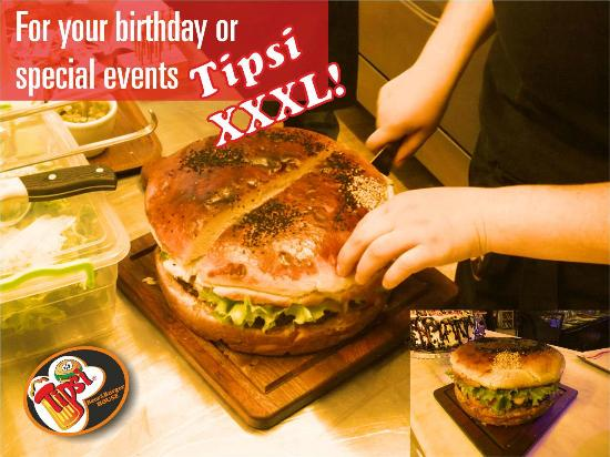 Tipsi Beer & Burger House : XXXL