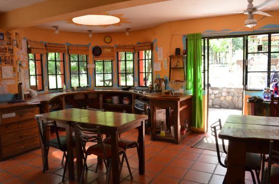 Casa Grande Hostel: cocina
