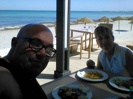 SENTIDO Djerba Beach: Sur la terrasse