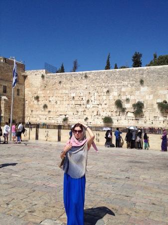 Margoa Hotel Netanya: Стена плача