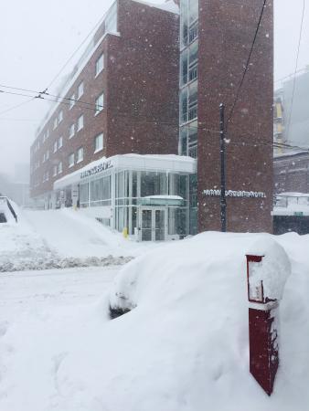 Harvard Square Hotel: Valentine's blizzard