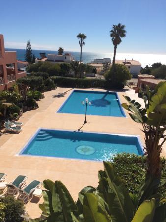 Hotel Belavista da Luz: The view from our balcony