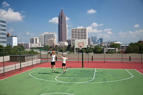 Hilton Atlanta: Basketball Court