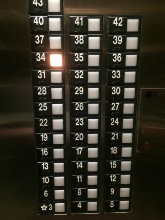 elevator floor panel picture of doubletree by hilton times