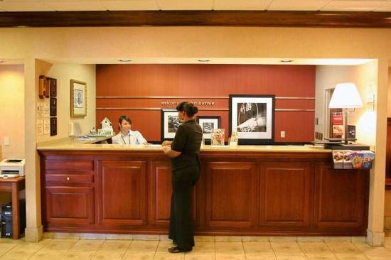 Hampton Inn Baltimore / Glen Burnie: Lobby