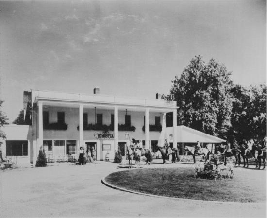 Homestead Resort: Front of the Resort from the early 1900s