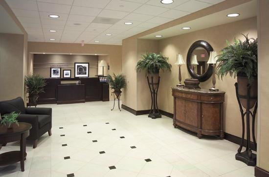 Hampton Inn Schenectady: Frontdesk