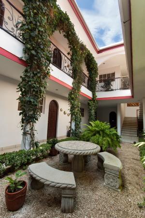Hotel Executive Managua: Jardin Principal