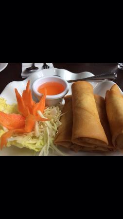Talay Thai: Spring rolls