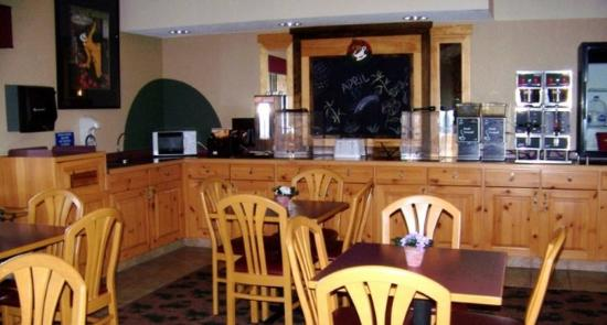 AmeriVu Inn and Suites - Shell Lake: Breakfast Area