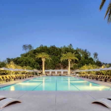 Solage, an Auberge Resort: The Main Pool At Solage Calistoga