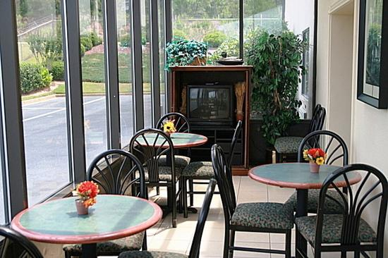 Red Roof Inn Macon West: Lobby Sitting