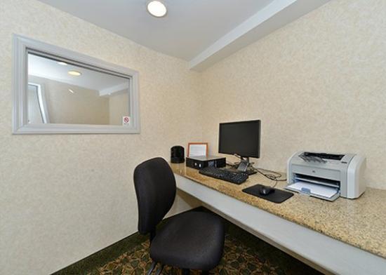 Comfort Inn Arlington Boulevard: business center